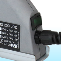 MS200LCDのスイッチ画像